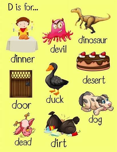 Letter Words Many Clipart Vector Vecteezy Graphics