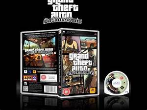 GTA: San Andreas Stories Official PSP Game Case - YouTube