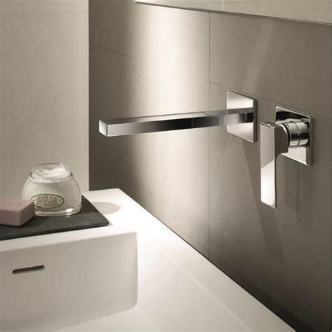 waschbecken 2 armaturen fantini unterputz waschtischmischer mint getrennter auslauf angeletti ruzza modernes design
