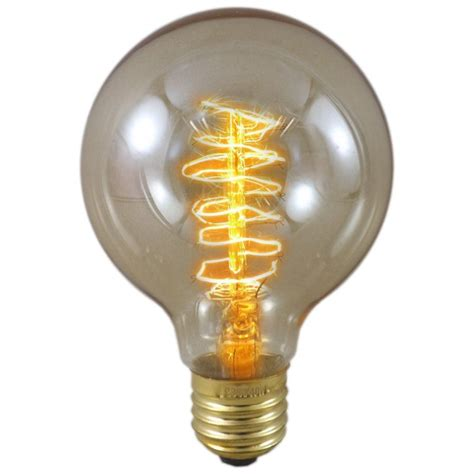 watt es  gold tinted trillion antique globe light bulb