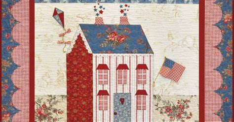 shabby fabrics sweetheart houses the shabby a quilting blog by shabby fabrics little garden house in summer kit