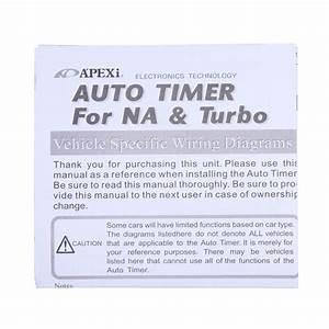 Turbo Timer Wiring Diagram