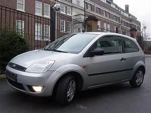 Lhd Ford Fiesta  07  2004  - Silver