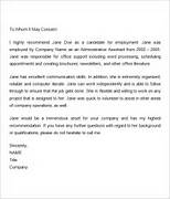 7 Recommendation Letters For Employment Download Free Example Of Professional Reference Letter RESUMES DESIGN Example Of A Good Work Reference Letter Cover Letter L R Reference Letter Letter Resume