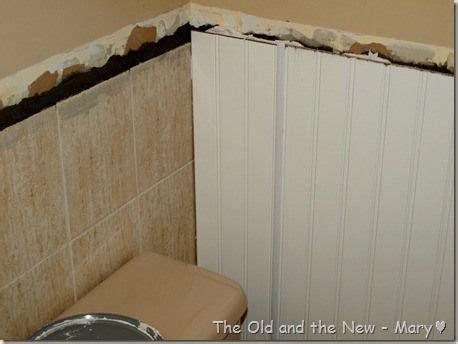 covering ugly tile images  pinterest bathroom