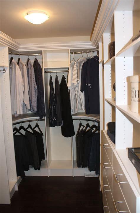 Diy Walk In Closet Corner   Home Design Ideas