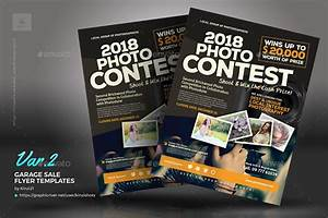 photo contest flyer templates by kinzishots graphicriver With photo contest flyer template