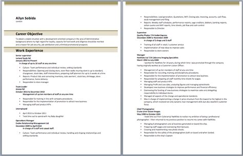 store incharge resume manager resume sles pinterest