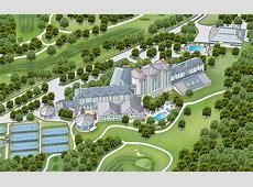 Resorts Near Austin TX Map of Omni Barton Creek Resort