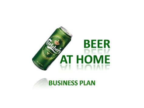 beer  home business plan powerpoint