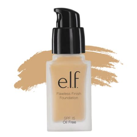 elf studio flawless finish foundation sand makeupconz
