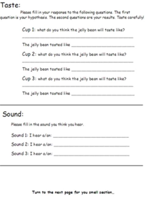 special senses worksheet worksheets tutsstar thousands