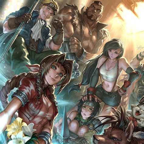 final fantasy  remake characters   wallpaper