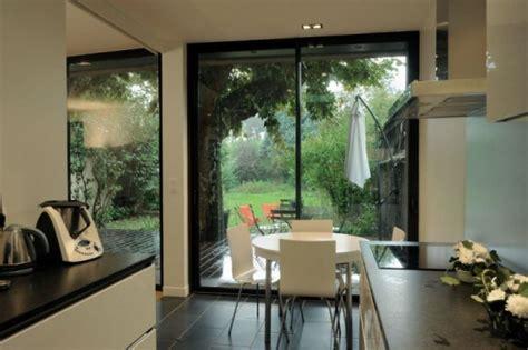 agrandissement cuisine sur terrasse agrandissement en béton d une maison bourgeoise