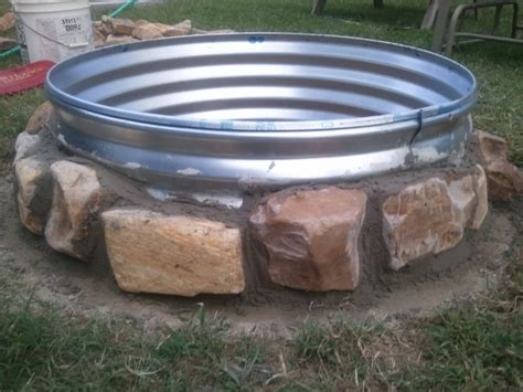 galvanized pit ring galvanized pit ring pit ideas
