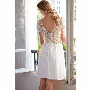32 best images about robes mariage civil on pinterest With la redoute robe dentelle