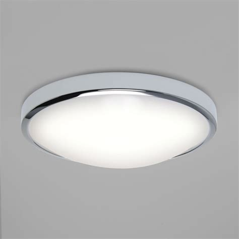 chrome ceiling fan with white astro lighting 7831 osaka chrome led bathroom ceiling light