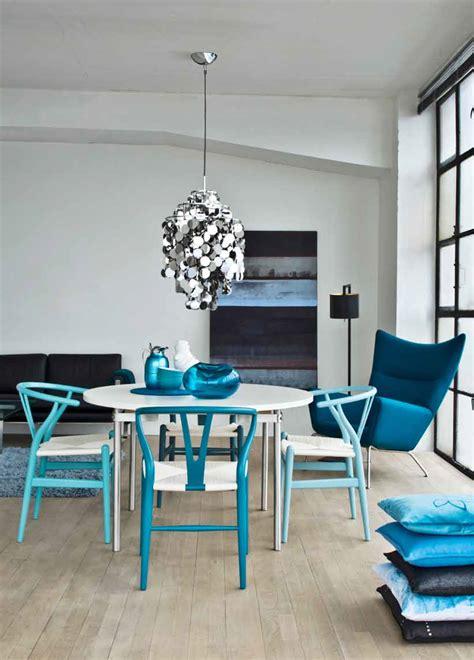 comedor azul decoracion  reciclado pinterest