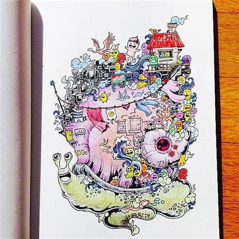artist kerby rosanes presents doodle invasion