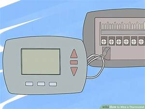 How To Wire A Thermostat  10 Steps  With Pictures