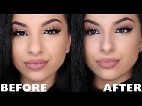 nose smaller  surgery   makeup