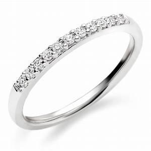 18ct White Gold Diamond Wedding Ring 0005107