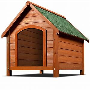 Holz Behandeln Wetterfest : hundeh tte hundehaus 82cm wetterfest hundeh hle dachluke ~ Lizthompson.info Haus und Dekorationen