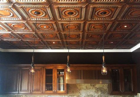dazzling tin kitchen ceiling traditional kitchen