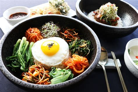 cuisine koreal but bibimbap sometimes anglicized as bi bim bap or bi bim bop