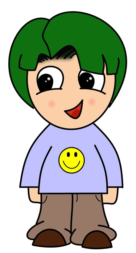 draw cartoons chibi boy