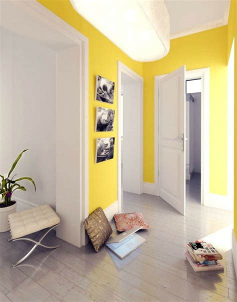 Flur Gestalten Gelb by Modernen Flur Gestalten 80 Inspirierende Ideen