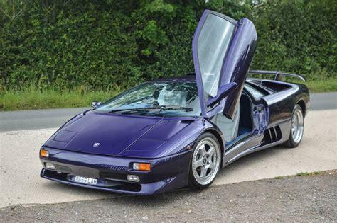 Blue Scuro Lamborghini Diablo Sv Headed To Salon Prive