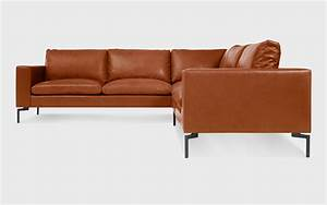 new standard small leather sectional sofa modern sofas With small sectional sofa left