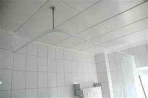 Duschvorhangstange Badewanne L Form : duschstange l form f r dusche badewanne oder barrierefreier duschbereich f r behinderten ~ Orissabook.com Haus und Dekorationen