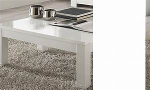 Table Basse Carrée Blanc Laqué : table basse carr e de salon design blanc laqu totti ~ Teatrodelosmanantiales.com Idées de Décoration