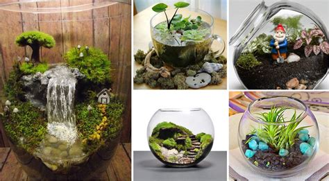 unique home decor 25 adorable miniature terrarium ideas for you to try
