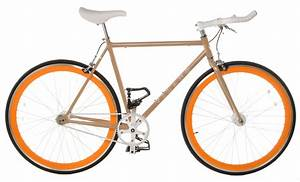 Single Speed Bikes : cream 58cm vilano edge chromoly fixed gear bike fixie ~ Jslefanu.com Haus und Dekorationen
