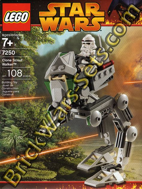 walker scout lego clone wars star sets brickwars
