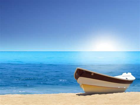boat sea beach wallpapers hd wallpapers id