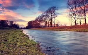 Nature, Hdr, Landscape, River, Wallpapers, Hd, Desktop, And