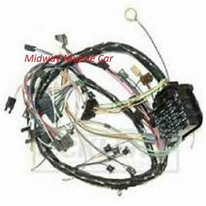 Dash Wiring Harness 69 Chevy Chevelle 350 327 307 396 427