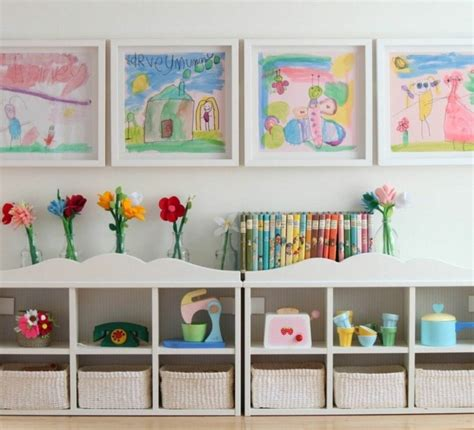 rangement chambres enfants rangement salle de jeux enfant 50 idées astucieuses