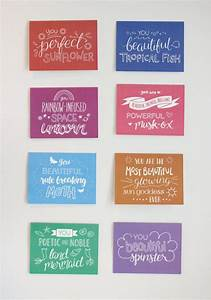 Leslie Knope Compliments - Hand Lettered Greeting Cards ...