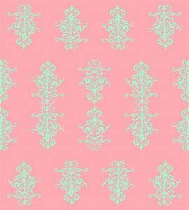 navy coral & mint ikat fabric | Mint And Coral Chevron ...