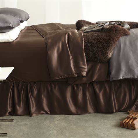 silk bed skirt luxury bed skirts adjustable bed skirt