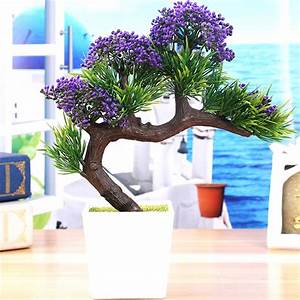 2017, New, Arrival, Artificial, Decorative, Flowers, Wreaths, Plants, Tree, Flower, Bonsai, Fake, Flowers