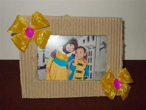 fayruz fadhil bingkai foto kardus bekas