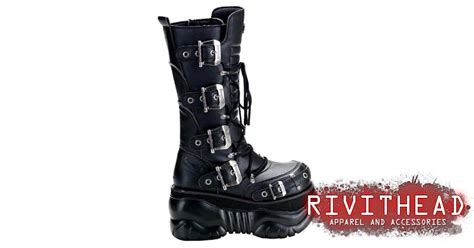 Boxer-205 Buckle Boots