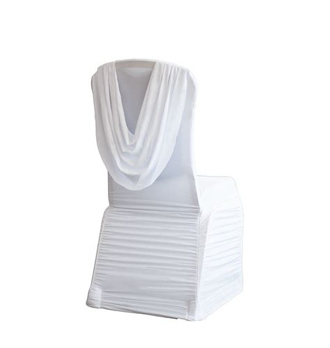 buy spandex ruched swag back chair cover spandex lycra