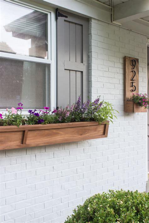 Window Planters by Diy Cedar Window Planters Shades Of Blue Interiors